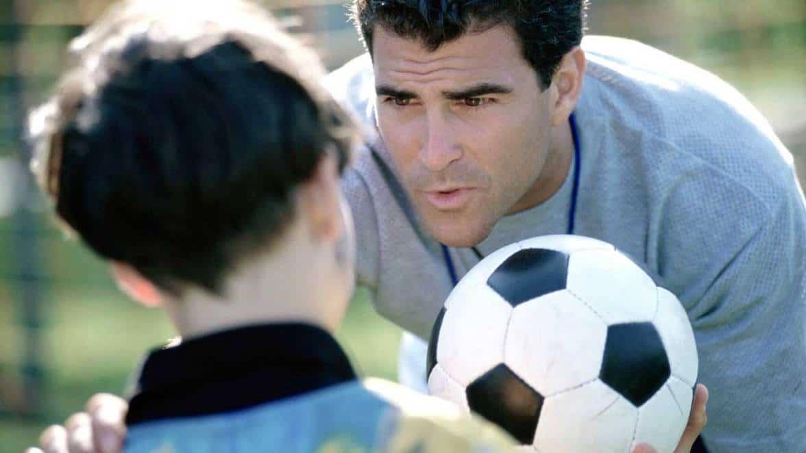 Primero niños y luego futbolistas