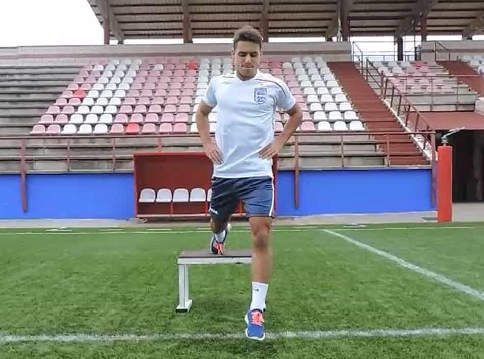 Sentadilla búlgara con salto