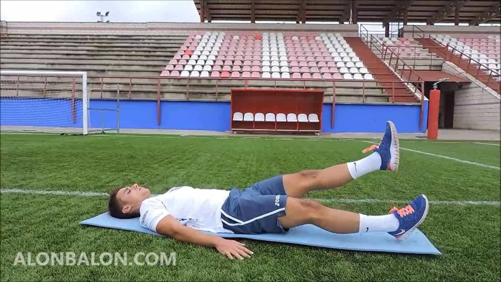 Descenso alterno de piernas